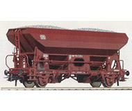 модель Roco 46132 Хоппер-вагон # 541 4 974-7 с грузом угля. Принадлежность DB. Эпоха IV.