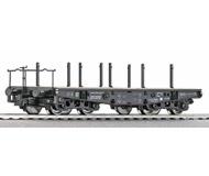 модель Roco 46385 Четырехосная платформа