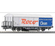 модель Roco 46400 Вагон для очистки рельсов ROCO-CLEAN