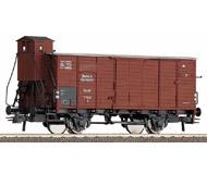 модель Roco 47645 Товарный вагон тип G10 с будкой кондуктора. Принадлежность DRG. Эпоха II.