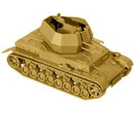 модель Roco 5056 Танк с зенитной пушкой Flakpanzer IV Wirbelwind. Серия Minitank. Wehrmacht. Эпоха II