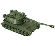 модель Roco 5060 Бронированная гаубица M109A2, калибр 155 мм. Серия Minitank.  Принадлежность US. Эпоха IV - VI