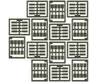 модель Roco 5168 Деревянные ящики для боеприпасов в двух различных размерах.