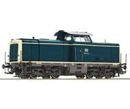 модель Roco 52538 Тепловоз BR 212. Принадлежность DB, Германия. Эпоха IV-V. Локомотив оборудован разъемом тип PluX22 для подключения декодера.