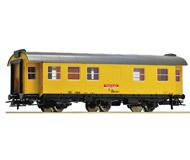 модель Roco 54294 Трехосный вагон строительного поезда. Принадлежность DB AG. Эпоха VI