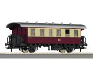 модель Roco 54334 Пассажирский вагон 2 класса DR. Принадлежность Германия, DR. Эпоха III. Длинна 138 мм.