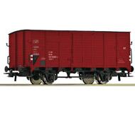 модель Roco 56225 Gedeckter Güterwagen G10 112 9 682-7. Принадлежность DB, Германия. Эпоха V.
