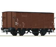 модель Roco 56233 Двухосный товарный вагон. Принадлежность Германия, DB. Эпоха IV. Длинна 107 мм.