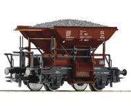 модель Roco 56244 Вагон типа Тальбот для перевозки сыпучих грузов. Принадлежность Польша, PKP. Эпоха IV. Длинна 79 мм.