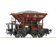 модель Roco 56245 Вагон типа Тальбот для перевозки сыпучих грузов. Принадлежность Германия, DB. Эпоха III. Длинна 79 мм.