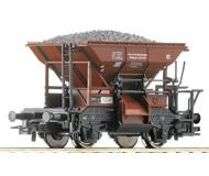модель Roco 56248 Вагон типа Тальбот для перевозки сыпучих грузов. Принадлежность Германия, DRG. Эпоха II. Длинна 79 мм.