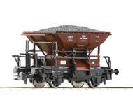 модель Roco 56249 Вагон типа Тальбот для перевозки сыпучих грузов. Принадлежность Австрия, ÖBB. Эпоха IV. Длинна 79 мм.