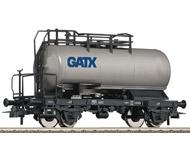 модель Roco 56260 Двухосная цистерна GATX. Частная жд. Эпоха VI. Длинна 102 мм.