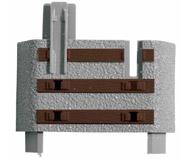 модель Roco 61183 Дополнительные шпалы к рельсам-флекс ROCO geoline 61106. В упаковке  6 шт