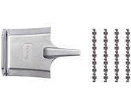 модель Roco 61192 Изолирующие контакты для geoLine с приспособлением для распиловки рельс. В комплекте 24 контакта
