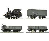 модель Roco 61457 Грузовой состав: паровоз class 85 и три грузовых вагона