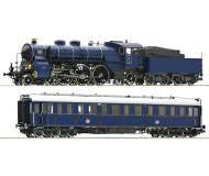 """модель Roco 61471 Набор. Паровоз S 3/6 и пассажирский вагон """"Prinzregenten"""""""