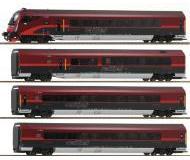 """модель Roco 64188 Набор """"Railjet"""" из четырёх вагонов 1 и 2 класса"""