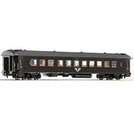 модель Roco 64299 Пассажирский вагон 2 класса, тип B7. Принадлежность SJ. Эпоха VI