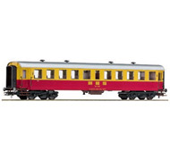 модель Roco 64356 Пассажирский вагон 2 класса. Принадлежность MBS (Montafonerbahn), Австрия. Эпоха IV.
