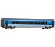 модель Roco 64697 Пассажирский вагон 1 класса. Принадлежность Чехословакия, CD. Эпоха VI. Длинна 305 мм.