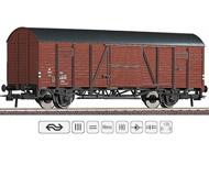 """модель Roco 66257 Двухосный товарный вагон (ex """"Dresden""""  DRG), принадлежность Голландские государственные железные дороги, NS Эпоха III"""
