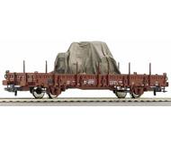 модель Roco 66769 Платформа с грузом, тип Ks 3300. Принадлежность Германия, DR. Эпоха IV