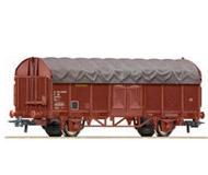 модель Roco 66867 Schiebeplanenwagen T. Принадлежность SNCF, Франция. Эпоха IV, mit authentischer Plane.