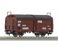 модель Roco 66917 Полувагон с открывающейся крышей, тип Tes-t-58. Принадлежность Германия, DB. Эпоха III