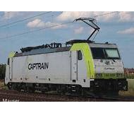 модель Roco 73656 Электровоз BR 186 Captrain. Принадлежность частные ж.д. Эпоха VI. Длинна 217 мм.