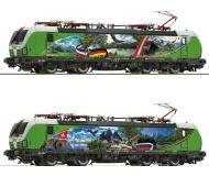модель Roco 73952 Электровоз BR 193 839-8. Принадлежность SETG, Австрия. Эпоха VI. Локомотив оборудован разъемом тип PluX22 для подключения декодера. Установлен цифровой звуковой декодер.