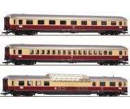 модель Roco 74136 Набор TEE 9/10 Rheingold : вагон 1 класса тип Avumh 111, вагон 1 класса тип Apumh 121, обзорный вагон 1 класса тип ADumh 101