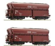 модель Roco 76059 Набор из 2х хопперов для Ruhrkohle AG