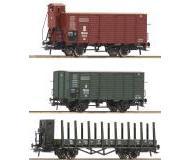 модель Roco 76094 Набор из 3х грузовых вагонов