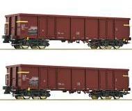модель Roco 76127 Set Güterwagen Eaos 2-teilig. Принадлежность FS, Италия.