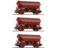 модель Roco 76178 Set Schwenkdachwagen Bauart Tds 3-teilig. Принадлежность SNCF, Франция. Эпоха IV-V.