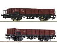 модель Roco 76281 Set offene Güterwagen EI 2-teilig. Принадлежность PKP, Польша. Эпоха IV.