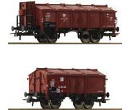 модель Roco 76306 2er Set Klappdeckelwagen. Принадлежность DR, Германия.