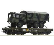 модель Roco 76394 Schwerlastw.+ MAN 3achs. Принадлежность DB AG, Германия.