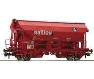 модель Roco 76579 Schwenkdachwagen Tds Railion. Принадлежность DB AG, Германия. Эпоха V, in rot.