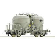 модель Roco 76761 Вагон-бункер для перевозки сыпучих грузов, тип Ucs. Принадлежность SBB. Эпоха V-VI