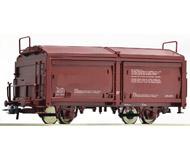 модель Roco 76785 Двухосный товарный вагон с раздвижной крышей и раздвижными стенами SJ. Принадлежность Швеция, SJ. Эпоха IV. Длинна 115 мм.
