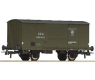 модель Roco 76842 Американский двухосный товарный вагон USTC. Принадлежность США, USTC. Эпоха III. Длинна 96 мм.