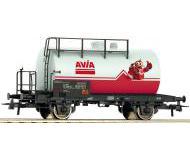 модель Roco 76960 Kesselwagen. Принадлежность SBB, Швейцария. Эпоха VI, in fiktivem Design mit dem Avia-Maskottchen.