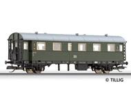 модель Tillig 13007 Пассажирский вагон 1 класса, тип ex. Bi-29. Принадлежность DR. Эпоха III