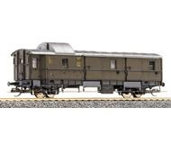 модель Tillig 13413 Багажный вагон, тип Pwi 30. Принадлежность DRG/DR. Эпоха II