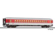 модель Tillig 13573 Пассажирский вагон 1 класса, тип Apmz 121.0. Принадлежность DB AG. Эпоха IV
