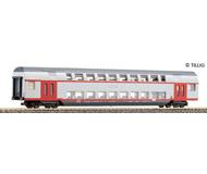 модель Tillig 73800 Двухэтажный пассажирский вагон, тип DABz. Принадлежность DB. Эпоха V