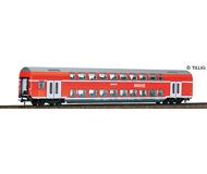 модель Tillig 73802 Двухэтажный вагон 2 класса, тип DBz 751 REGIO. Принадлежность DB AG. Эпоха VI