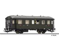 модель Tillig 74801 Пассажирский вагон 2/3 класса, тип BCi 34. Принадлежность DRG. Эпоха II